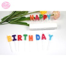 Best-selling top level birthday cake candles letters
