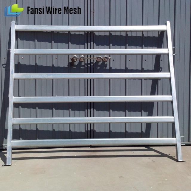 Livestock handling system hot dip galvanized cattle equipment