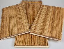 C&L natural UV African zebra solid hardwood flooring