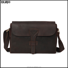 New arrival waterproof messenger bag genuine leather shoulder bag/bag messenger/anti-theft bag