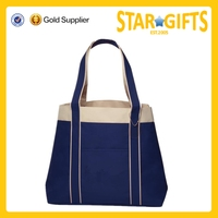 China Supplier Wholesale Promotional Canvas Tote Bag With Custom Logo Printed