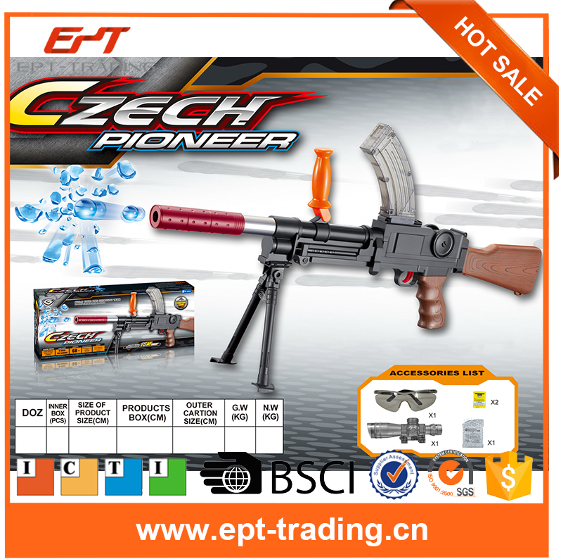 Hurrican AK47 toy gun with water bullet magazine