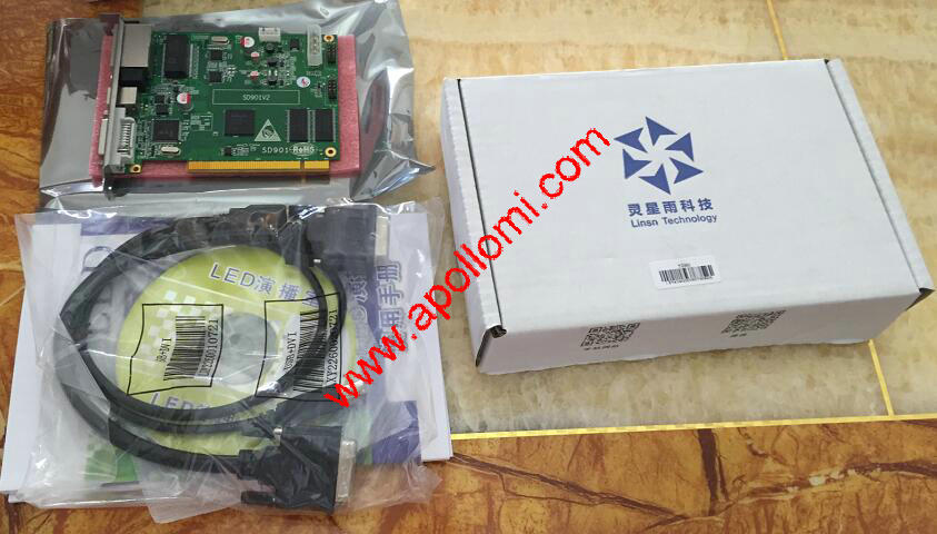 3D max movie control system software sending card TS901 LINSN
