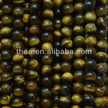 2013 Fashion stone hot selling and high quality tiger-eye loose beads like the shower curtain alibaba express