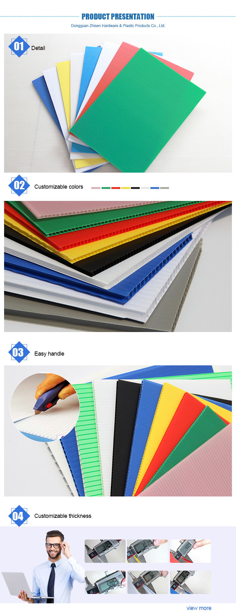 High Quality Pp Polyflute Corrugated Plastic Sheet Supplier
