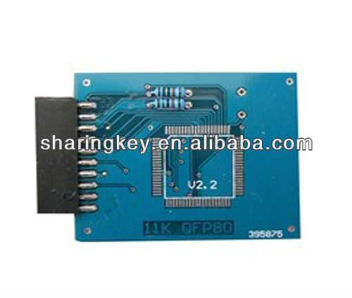 11K QFP-80 programming adapter applicable with HC711/HC11 EEPROM Programming tool