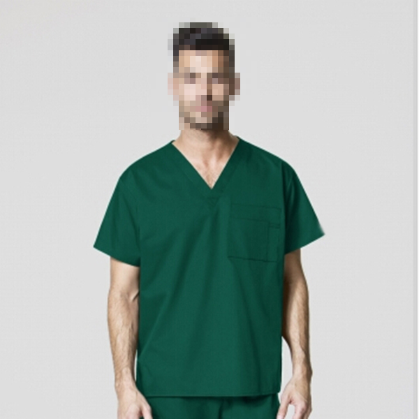 Student Nurse Uniform Green Medical Scrubs Wholesale