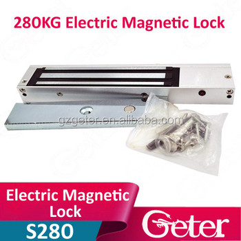 280KG Single Electric magnetic Lock 600Lbs force Holding