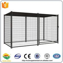 Alibaba express popular hot sale large outdoor beautiful modular dog kennel ISO certificte
