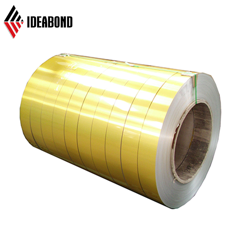 IDEABOND high quality anodized mirror finish aluminum coil color coated sheet roll