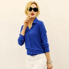2017 Women Elegant Shirt Chiffon Blusas Femininas Tops Formal Office Shirt Blouse
