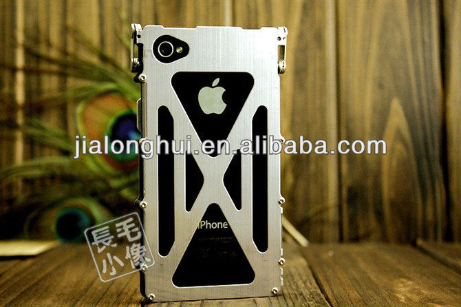 2013 Hot selling Iron Man Aluminum Metal Hard Case For iPhone5 5G