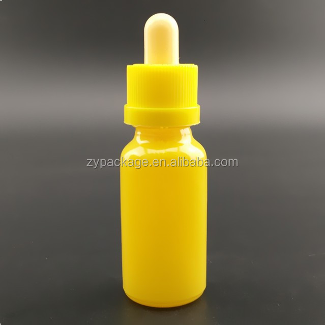 Red/yellow/purple/amber/green/clear/blue e liquid e smoking oil e juice 30ml glass bottle with dropper