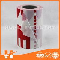 PE adhesive protecting film for PVC steel glass