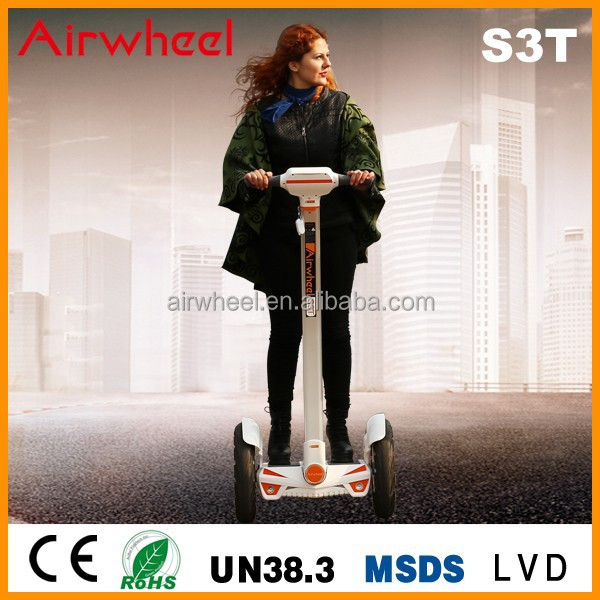 2016 Hot selling self balance stand up 2 wheel beach cruiser electric scooter