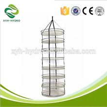 Hydroponic plant growing system 4/6/8 layer net belt- type drying plants for plant