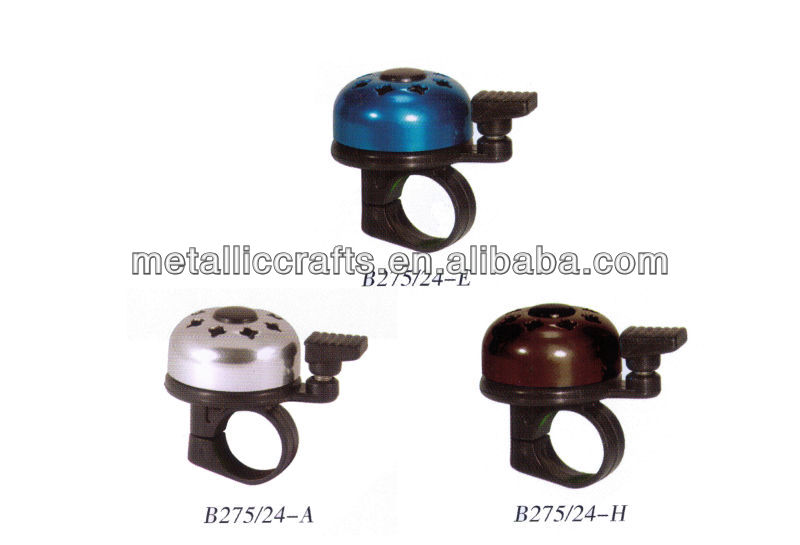 New Metal Ring Cross Hollow Design Handlebar Bicycle Bell