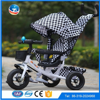 Alibaba selling best cheap price China 3 in 1 baby stroller tricycle for sale