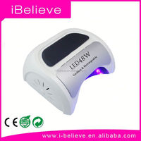 NEW PRO CURE CORDLESS RECHARGABLE 48w led nail lamp nail decoration for nail Trade Assurance