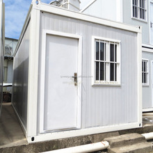 Container house villa Cheap luxury prefab 1 bedroom ,toilet ,kitchen combined mobile container home 20ft