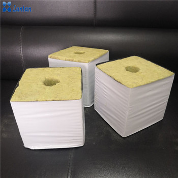 Hydroponic media agriculture planting use 6x6x6 rock wool grow cubes