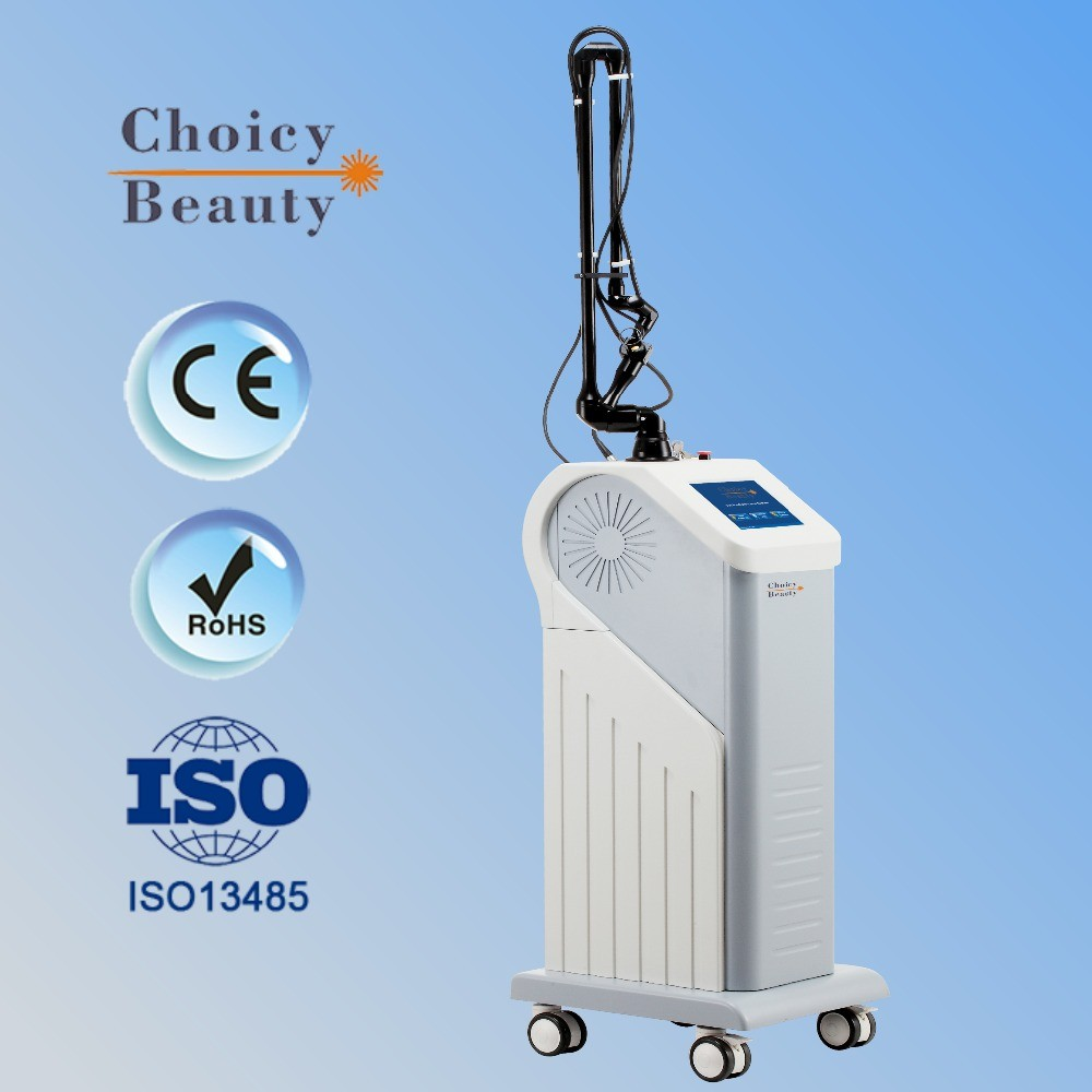 Glass tube vaginal tightening fractional co2 laser machine
