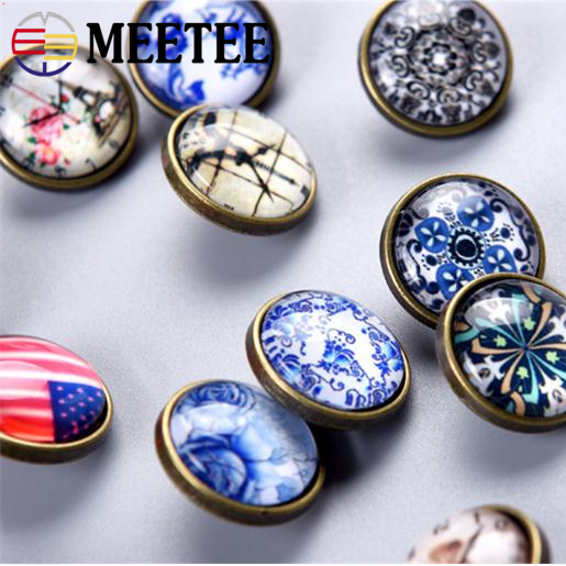 18mm Hardware accessories DIY manual crystal snap buttons fashion clothing 2017