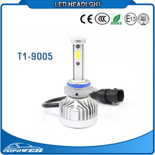 Smallest Size, All In One Built-In Driver 42w 6000lm H4 H7 H11 9005 9006 9007 super bright led headlight conversion kit for car