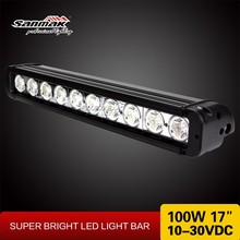 17inch waterproof IP67 aurora led off road light bar