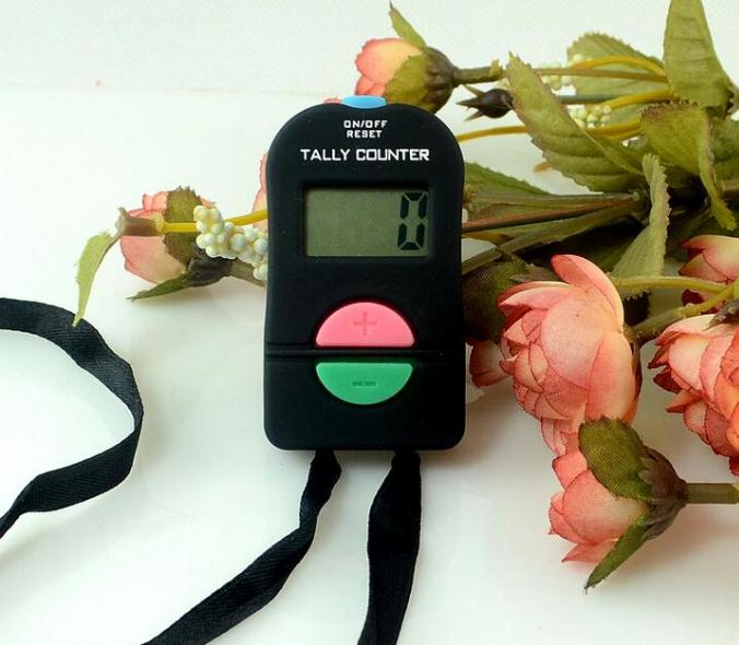 Digital Hand Tally Counter Electronic Manual Clicker ADD/SUBTRACT MODEL For Golf Sports Muslim