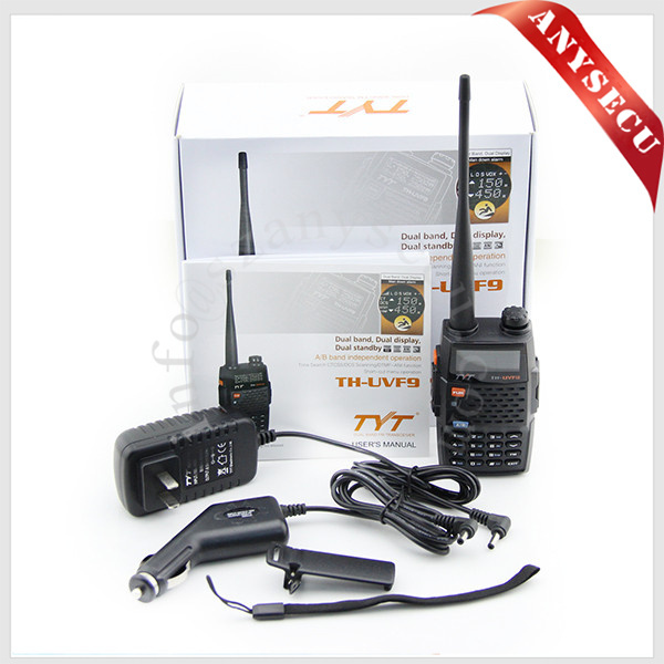 ham radio mobile TYT TH-UVF9 256CH dual band 136-174+400-480MHz long range fm transmitter