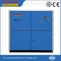 Low Speed Air End Operation Electromotor Screw Air Compressor