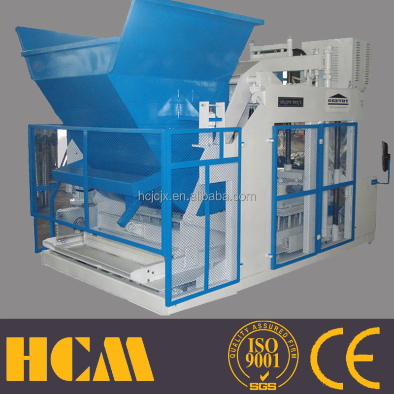 cheap construction equipment QMY10-15 german machinery manufacturers concrete block machine