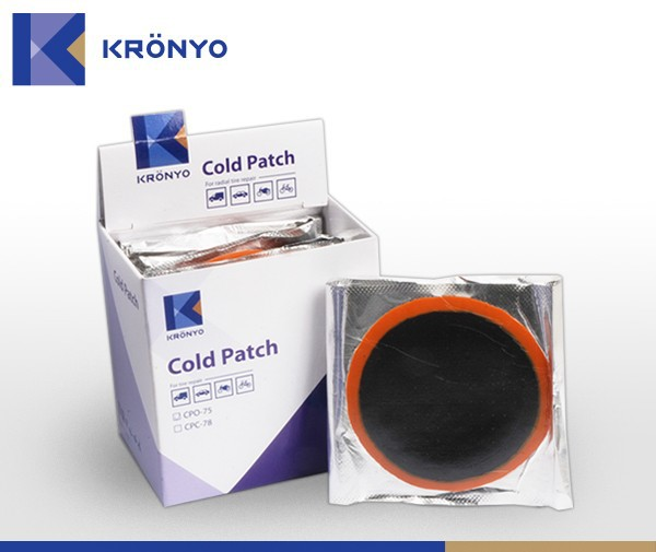 KRONYO tire patch kits flat tire repairs motorcycle tires