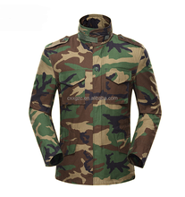 Waterproof military woodland army winter camouflage M65 field jacket