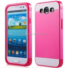 Rose hot pink hybrid mobile phone case cover for Samsung galaxy S3 S4 note 2