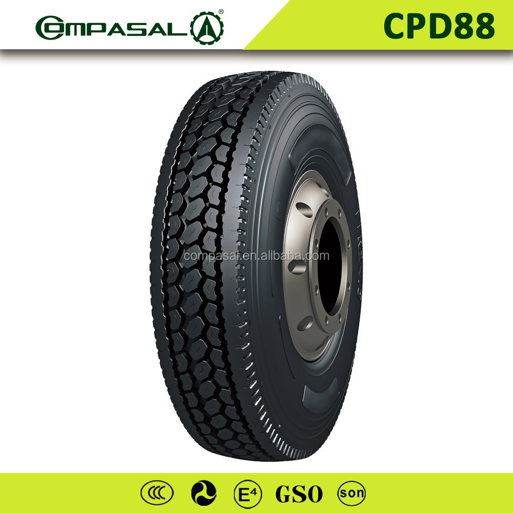 On sale Heavy duty 295/75r 22.5 truck tires