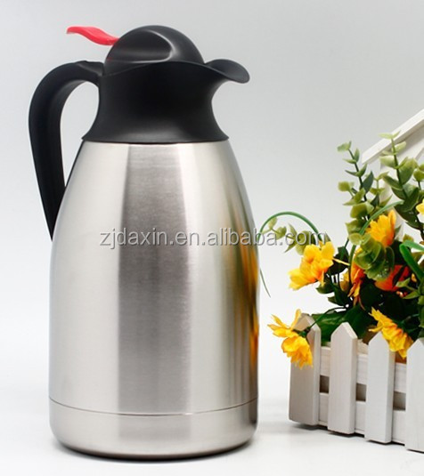 Household cordless hot water jug / stainless steel electric coffee pot or thermos flask