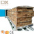electric heat exchanger timber tunnel drying oven for furniture wood