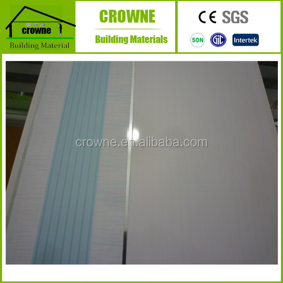 Insulation sandwich panel Fast instal pvc wall panel for ceilings,wall