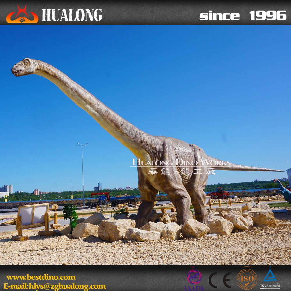 Simulation Omeisaurus Sculpture Animatronic Dinosaur for Sale