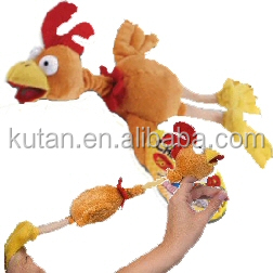 New Arrive Monkey Flying Slingshot Flying Plush Chicken toy