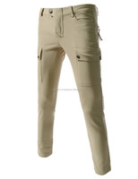 SEMI BAGGY STRETCHY PATCHED CARGO COTTON PANTS BRAND NEW, 2 SIDE FRONT POCKET 2 BACK ZIPPER POCKET 93% COTTON, 7% SPANDEX BEIGE