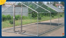 ChickenCoopOutlet Deluxe Large Metal 7x10 ft Chicken Coop Backyard Hen House Cage Run Outdoor Cage