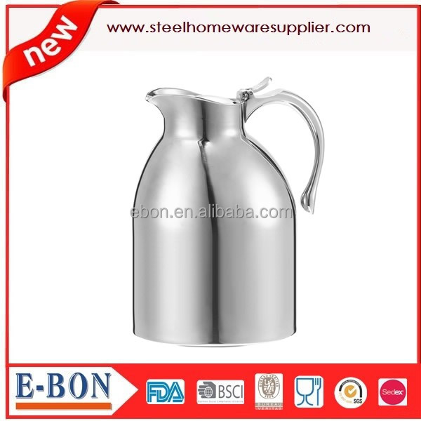 Stainless Steel Vacuum Beverage Jug Water Jug Coffee pot