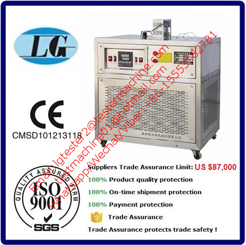 -80 degree CVN charpy V notch test specimen cooling system, charpy test cooler 100% trade assurance protection