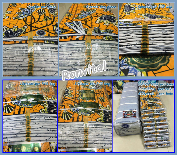 Item No.H489 Veritable super wax java print fabric /Fashion java fabric /Veritable super wax print fabric