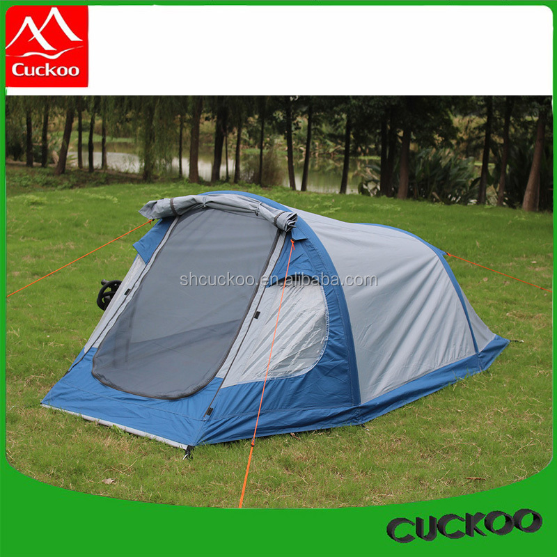 2 person Small Inflatable Tent Blue Garden Lawn Tent