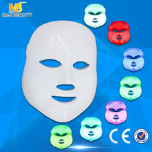 Home use colorful PDT led light therapy beauty face mask for ance removal