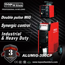 ALUMIG-350CP aluminum mig welding machine with water cooling and pulse